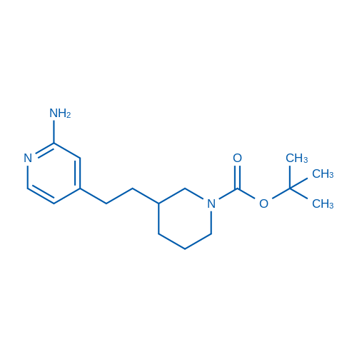 tert-Butyl 3-(2-(2-aminopyridin-4-yl)ethyl)piperidine-1-carboxylate