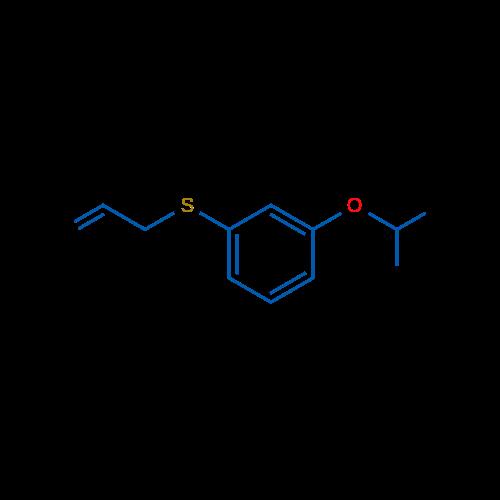 Allyl(3-isopropoxyphenyl)sulfane