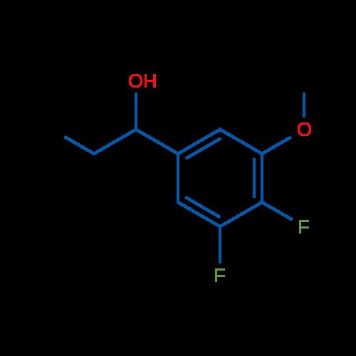 1-(3,4-Difluoro-5-methoxyphenyl)propan-1-ol