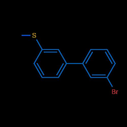 (3'-Bromo-[1,1'-biphenyl]-3-yl)(methyl)sulfane