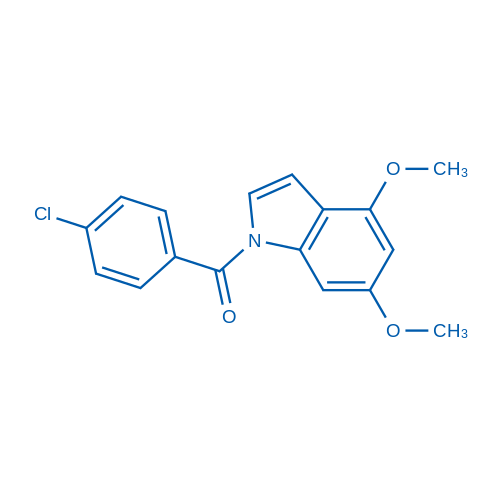 (4-Chlorophenyl)(4,6-dimethoxy-1H-indol-1-yl)methanone