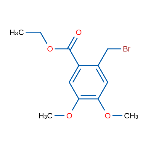 Ethyl 2-(bromomethyl)-4,5-dimethoxybenzoate