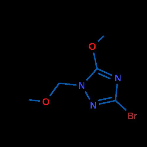 3-Bromo-5-methoxy-1-(methoxymethyl)-1H-1,2,4-triazole