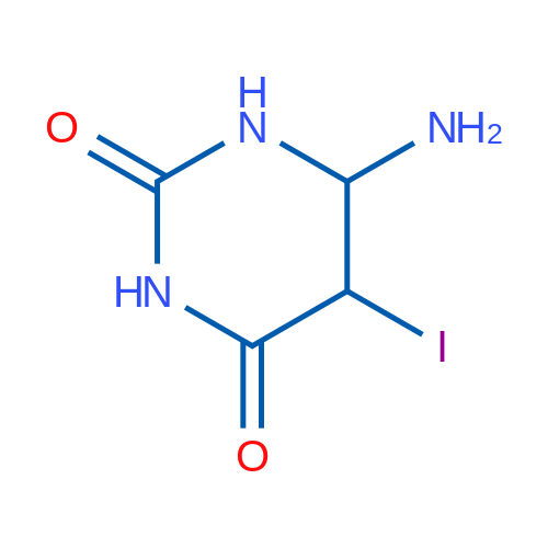 6-Amino-5-iododihydropyrimidine-2,4(1H,3H)-dione