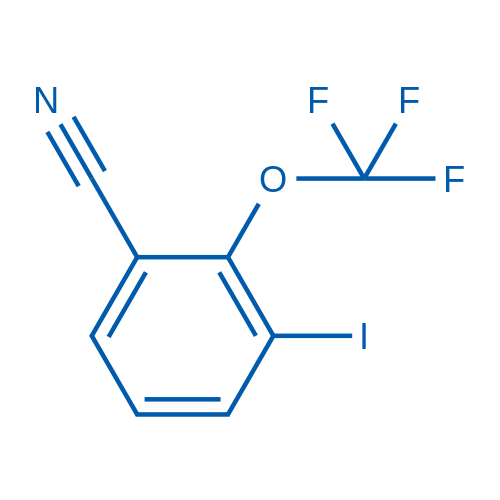 3-Iodo-2-(trifluoromethoxy)benzonitrile