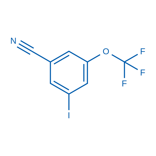3-Iodo-5-(trifluoromethoxy)benzonitrile