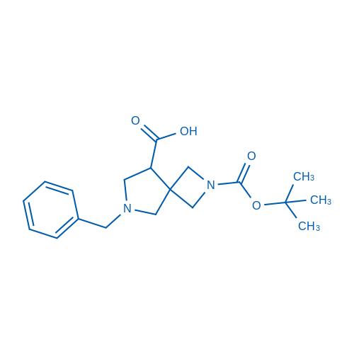 6-Benzyl-2-(tert-butoxycarbonyl)-2,6-diazaspiro[3.4]octane-8-carboxylic acid