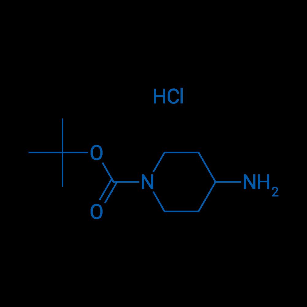 tert-Butyl 4-aminopiperidine-1-carboxylate hydrochloride