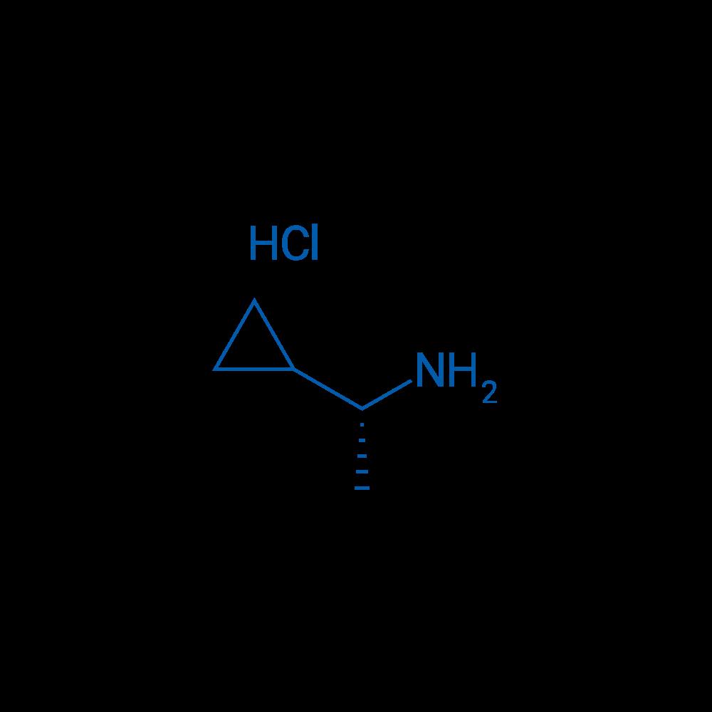 R-1-cyclopropyl-aminehydrochloride