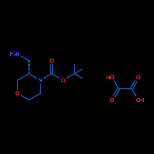 (S)-tert-Butyl 3-(aminomethyl)morpholine-4-carboxylate oxalate