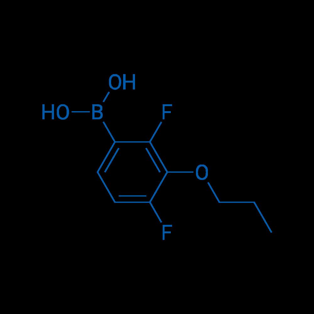(2,4-Difluoro-3-propoxyphenyl)boronic acid