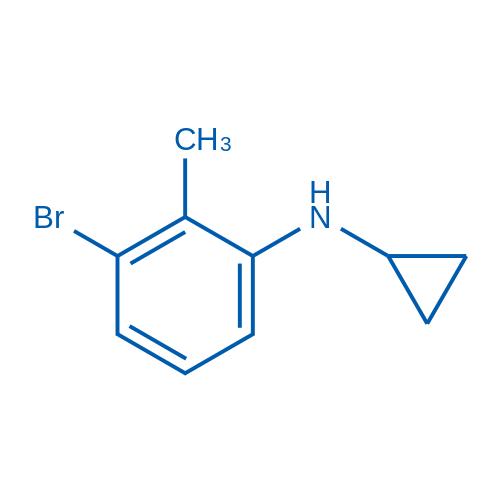 3-Bromo-N-cyclopropyl-2-methylaniline