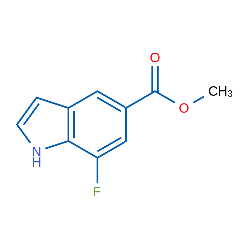 Methyl 7-fluoro-1H-indole-5-carboxylate