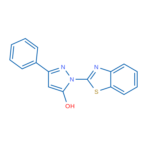 1-(Benzo[d]thiazol-2-yl)-3-phenyl-1H-pyrazol-5-ol