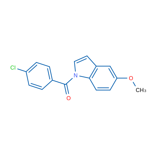 (4-Chlorophenyl)(5-methoxy-1H-indol-1-yl)methanone