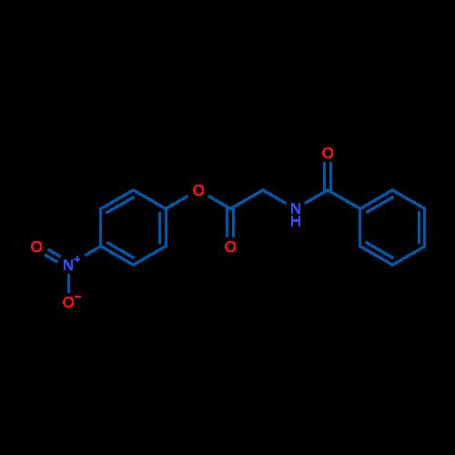 4-Nitrophenyl 2-benzamidoacetate