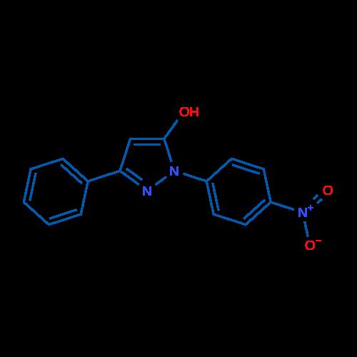 1-(4-Nitrophenyl)-3-phenyl-1H-pyrazol-5-ol