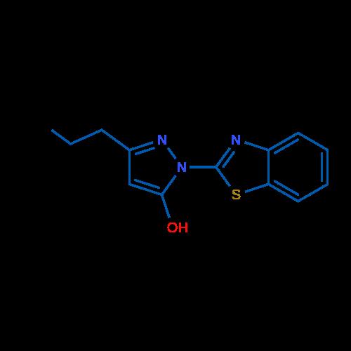 1-(Benzo[d]thiazol-2-yl)-3-propyl-1H-pyrazol-5-ol
