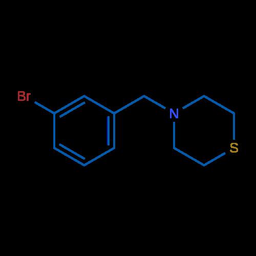 4-(3-Bromobenzyl)thiomorpholine