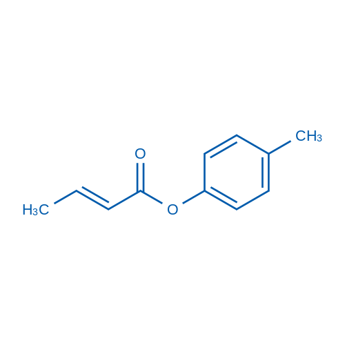 (E)-p-Tolyl but-2-enoate