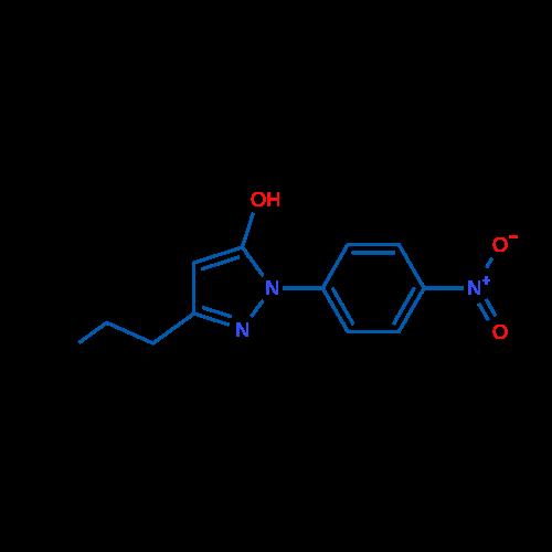 1-(4-Nitrophenyl)-3-propyl-1H-pyrazol-5-ol
