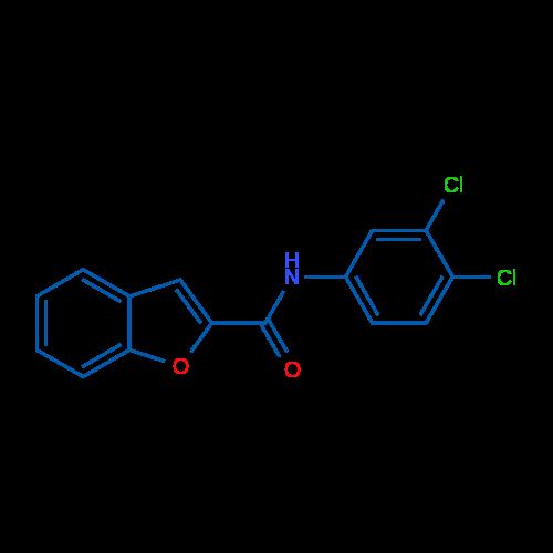 N-(3,4-Dichlorophenyl)benzofuran-2-carboxamide