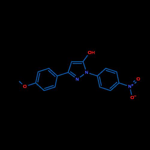 3-(4-Methoxyphenyl)-1-(4-nitrophenyl)-1H-pyrazol-5-ol
