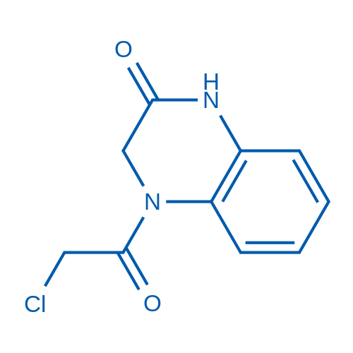 4-(2-Chloroacetyl)-3,4-dihydroquinoxalin-2(1H)-one