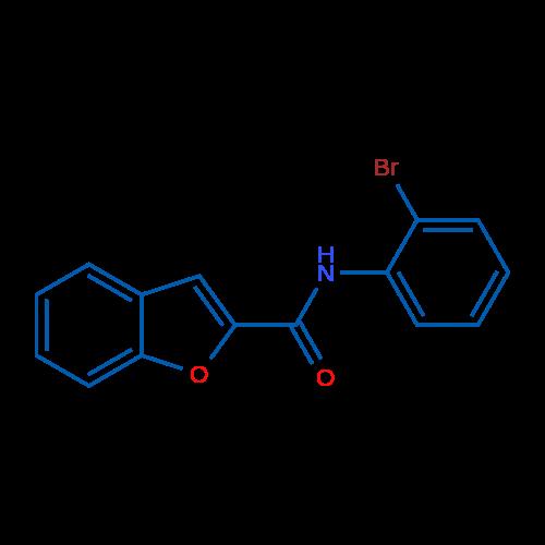 N-(2-Bromophenyl)benzofuran-2-carboxamide