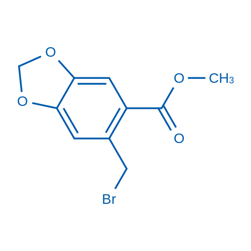 Methyl 6-(bromomethyl)benzo[d][1,3]dioxole-5-carboxylate
