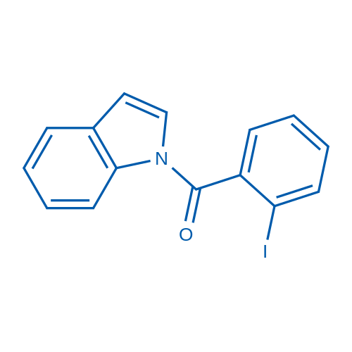 (1H-Indol-1-yl)(2-iodophenyl)methanone