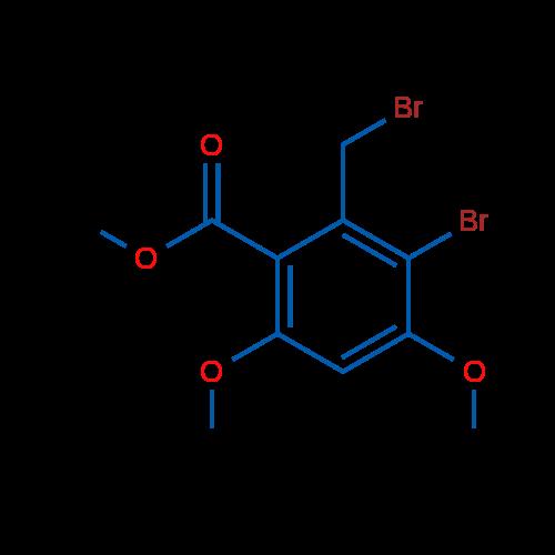Methyl 3-bromo-2-(bromomethyl)-4,6-dimethoxybenzoate