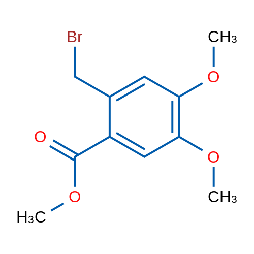 Methyl 2-(bromomethyl)-4,5-dimethoxybenzoate