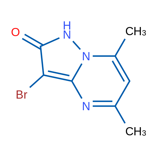 3-Bromo-5,7-dimethylpyrazolo[1,5-a]pyrimidin-2(1H)-one