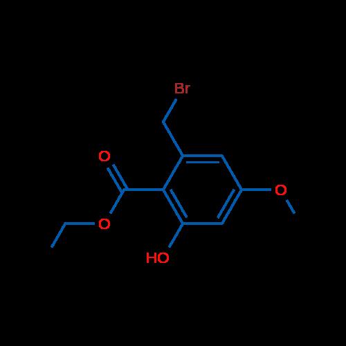 Ethyl 2-(bromomethyl)-6-hydroxy-4-methoxybenzoate