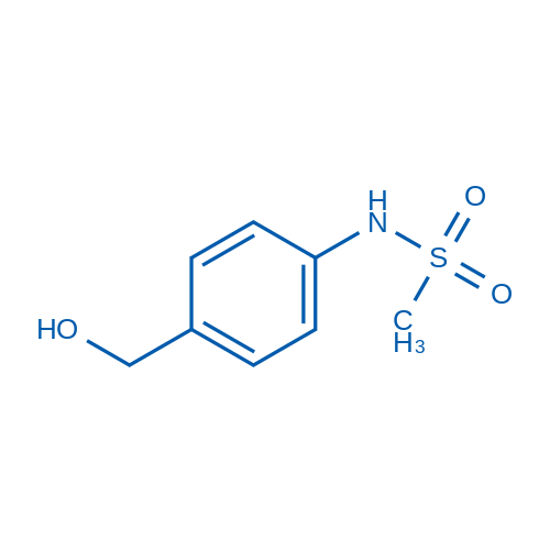 N-(4-(Hydroxymethyl)phenyl)methanesulfonamide