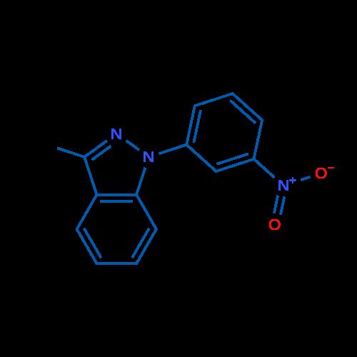 3-Methyl-1-(3-nitrophenyl)-1H-indazole