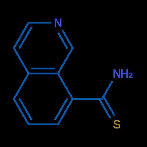Isoquinoline-8-carbothioamide
