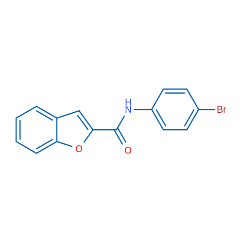 N-(4-Bromophenyl)benzofuran-2-carboxamide