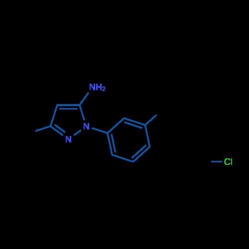 3-Methyl-1-(m-tolyl)-1H-pyrazol-5-amine hydrochloride