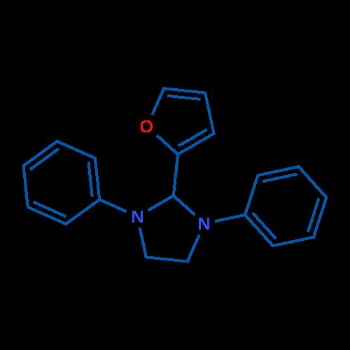 2-(Furan-2-yl)-1,3-diphenylimidazolidine
