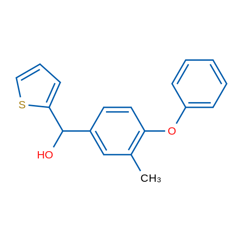(3-Methyl-4-phenoxyphenyl)(thiophen-2-yl)methanol