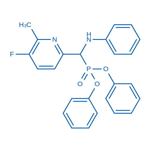Diphenyl ((5-fluoro-6-methylpyridin-2-yl)(phenylamino)methyl)phosphonate