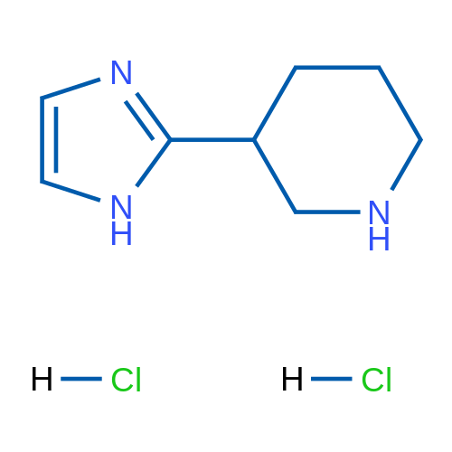 3-(1H-Imidazol-2-yl)piperidine dihydrochloride