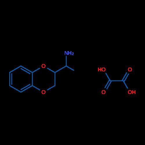 1-(2,3-Dihydrobenzo[b][1,4]dioxin-2-yl)ethanamine oxalate