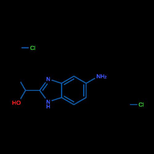 1-(5-Amino-1H-benzo[d]imidazol-2-yl)ethanol dihydrochloride