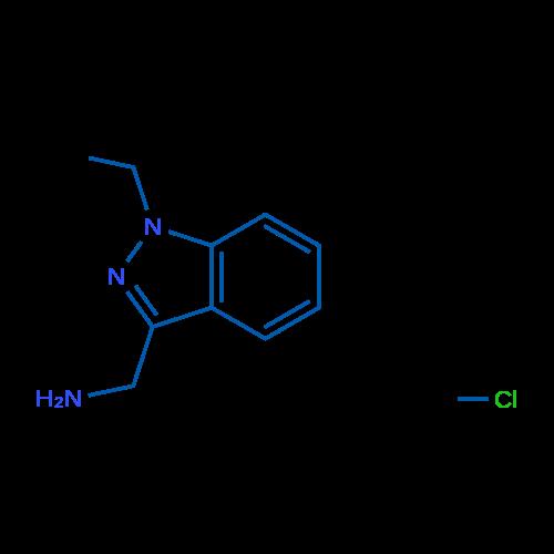 (1-Ethyl-1H-indazol-3-yl)methanamine hydrochloride