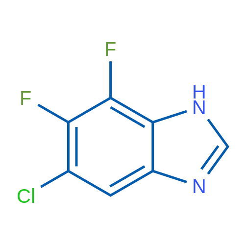 6-Chloro-4,5-difluoro-3H-1,3-benzodiazole