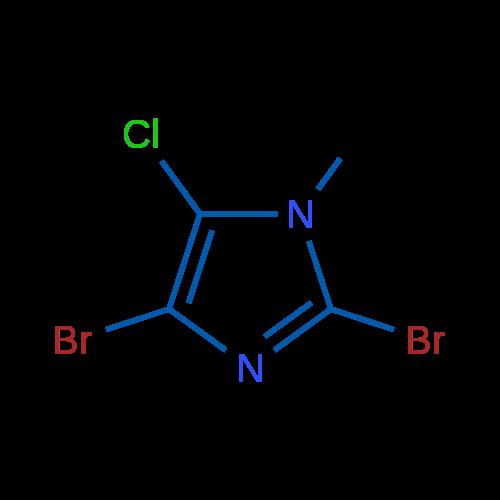 2,4-Dibromo-5-chloro-1-methylimidazole