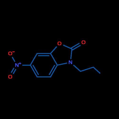 6-Nitro-3-propyl-1,3-benzoxazol-2-one